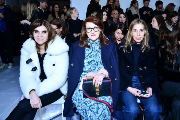 Carine Roitfeld, Glenda Bailey et Elissa Santisi
