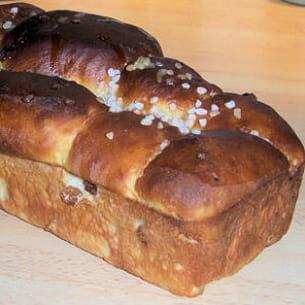 pain brioché aux raisins