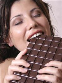 le chocolat est aussi bon pour les hommes que pour les femmes.