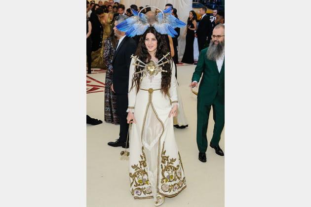Lana Del Rey en Gucci