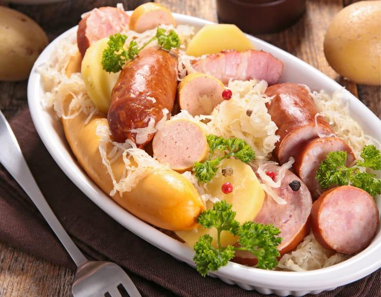 Choucroute royale - Cuisiner choucroute crue ...