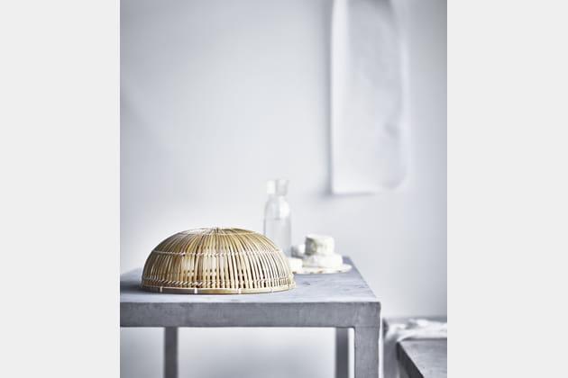 cloche alimentaire en bambou. Black Bedroom Furniture Sets. Home Design Ideas