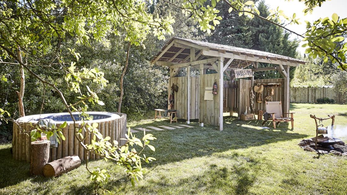 "Un studio de jardin en mode ""pool house"""