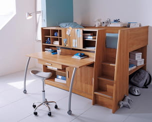 lit compact madison d 39 atlas. Black Bedroom Furniture Sets. Home Design Ideas