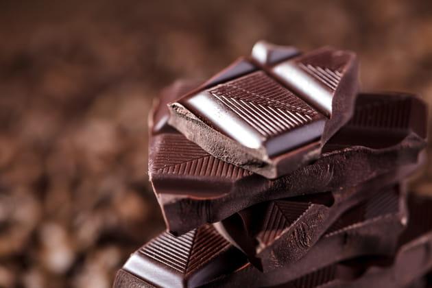 100kcal = 4petits carrés de chocolat