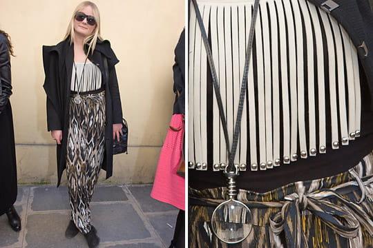 Fashion week : les street looks des défilés parisiens PAP automne-hiver 2011-2012 56