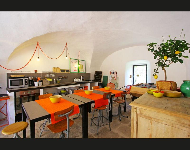 Salle à manger provençale