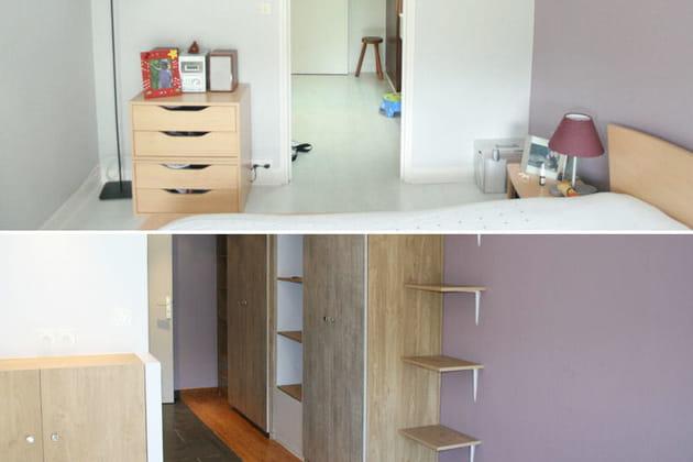 La rénovation d'une suite parentale aérée