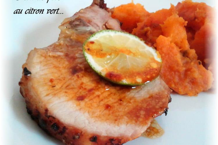Rôti de porc au citron vert