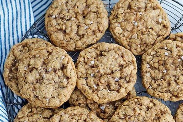 Cookies au chocolat avec pointe de sel