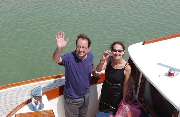 François Hollande et Ségolène Royal, à La Rochelle (2005)