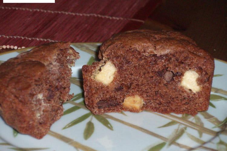 Muffins Triple Chocolate Fudge