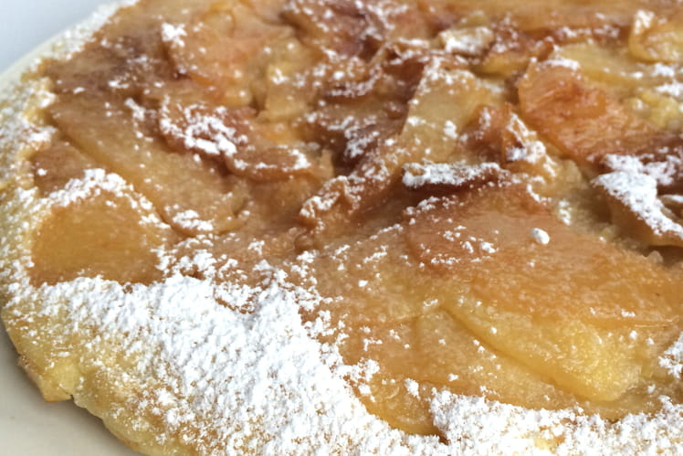 Gâteau aux pommes à la poêle (crapiaux)