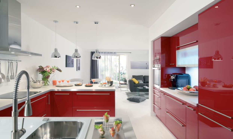 cuisine r no de conforama. Black Bedroom Furniture Sets. Home Design Ideas