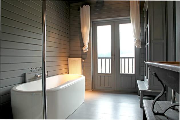 Une salle de bains unifiée