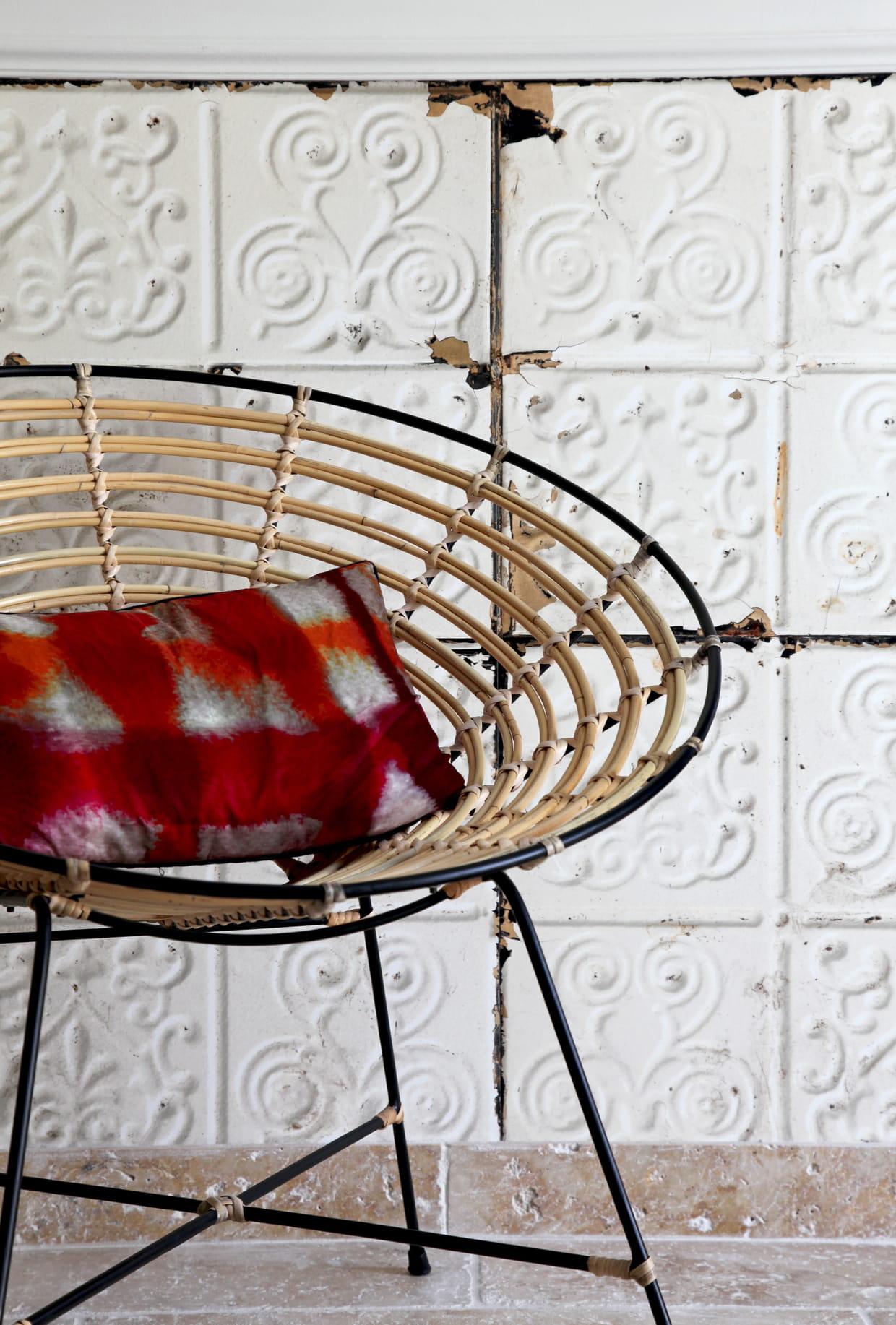 fauteuil arrondi dutchbone. Black Bedroom Furniture Sets. Home Design Ideas