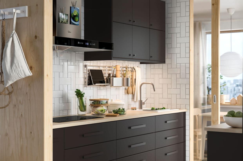 Porte Cuisine Sur Mesure Ikea cuisine ikea : conseils et nouveautés meubles, îlot, crédence