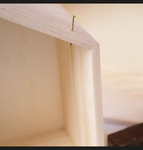 Etape 2: percer le bois