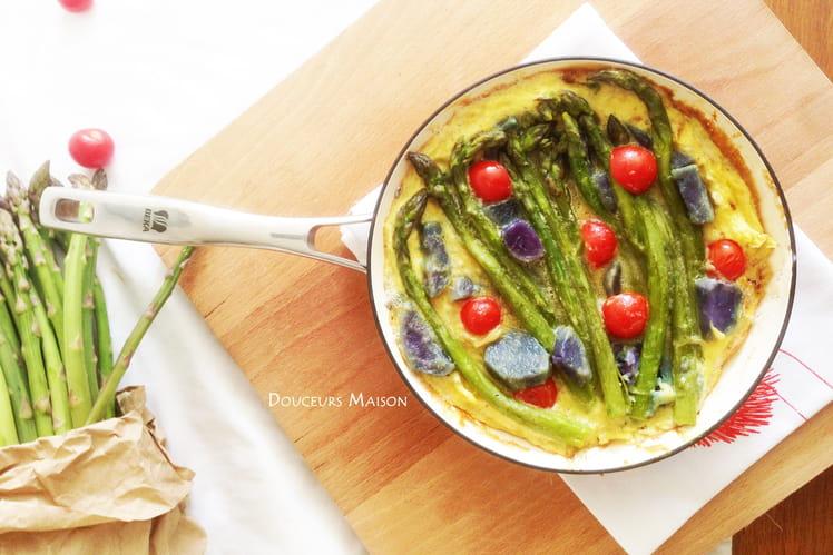 Omelette Printanière aux asperges