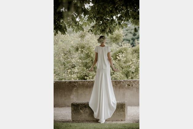 Robe de mariée Jasmin Noir, Victoire Vermeulen