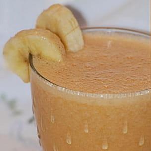 smoothie bananes-agrumes