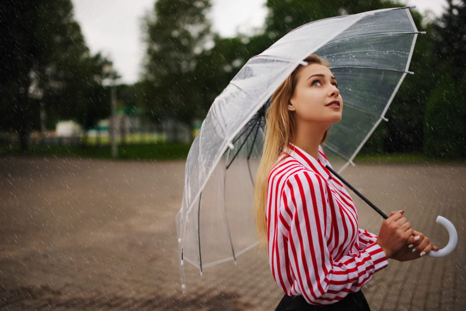 Des coiffures faciles à adopter par temps de pluie