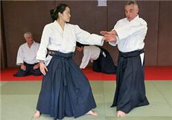 a l'adolescence, la pratique de l'aïkido a permis à cécile de dédramatiser