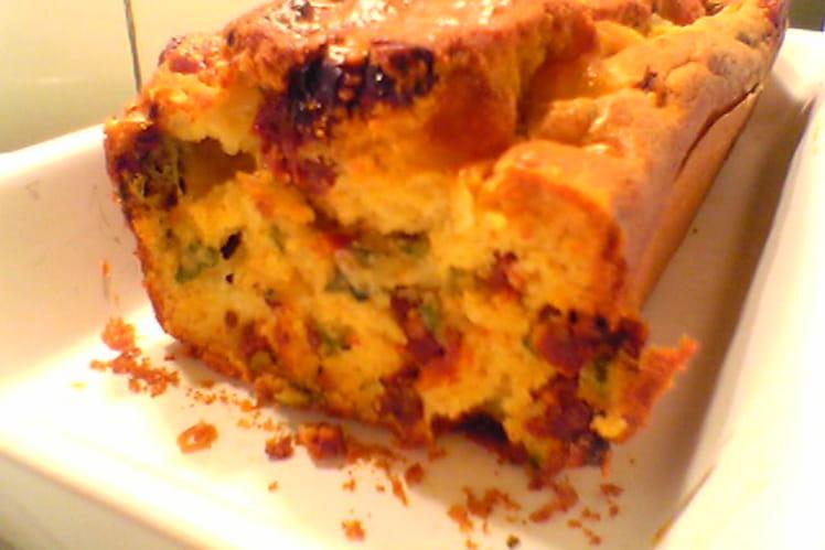 Cake aux tomates séchées & mozzarella