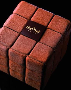 ice cube chocolat de lenôtre