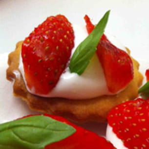 petite tartelette aux fraises