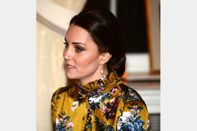 Kate Middleton: le chignon strict