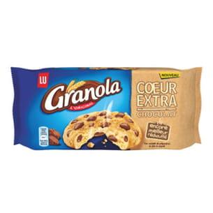 cookie au cœur moelleux de granola