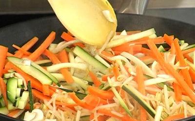 cuire les légumes