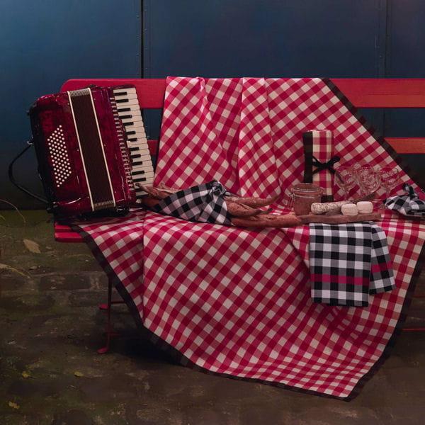 nappe guinguette par le jacquard fran ais. Black Bedroom Furniture Sets. Home Design Ideas