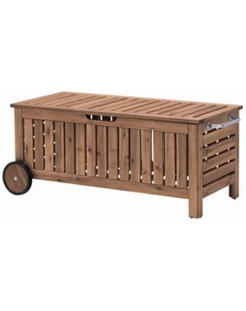 banc coffre en bois applar d 39 ikea. Black Bedroom Furniture Sets. Home Design Ideas