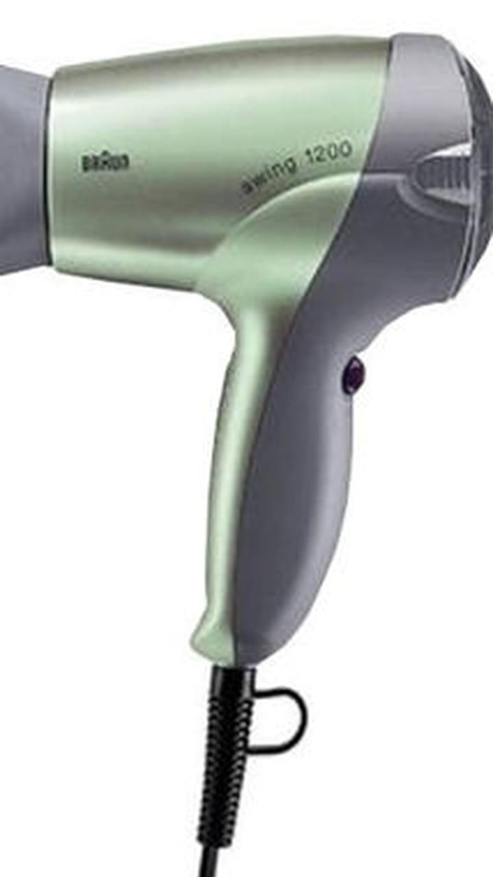 BaByliss 5712E Sèche cheveux gris