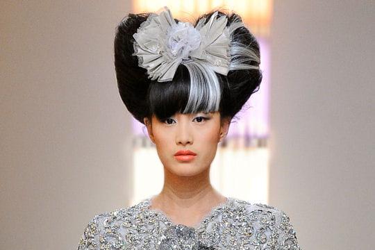 Les tendances coiffure du défilé Chanel