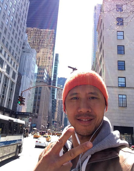 Julien Hagnery, à Manhattan