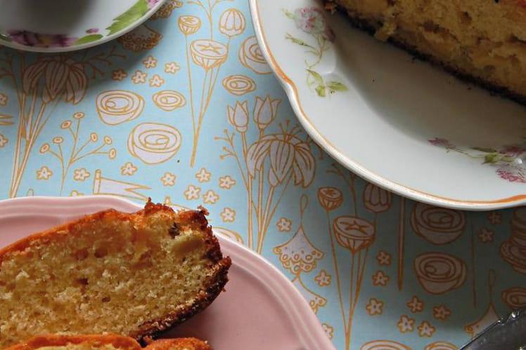Cake à la pomme et au kiwi