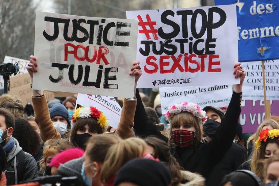 Julie, 13ans, violée par 20pompiers: les faits, son calvaire sans fin et une manif