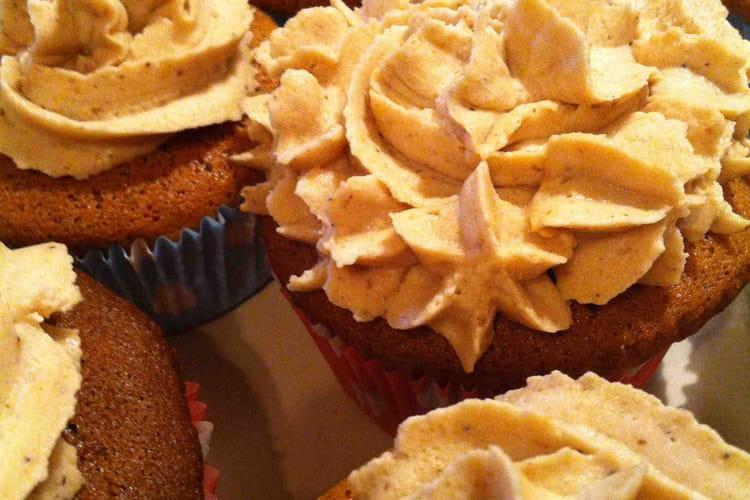 Cupcake à la crème de marron
