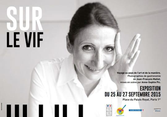 Anne-Sophie Pic s'expose Sur le vif