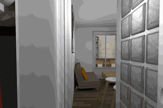 L'entrée repensée par Marie-Lise Cifarelli