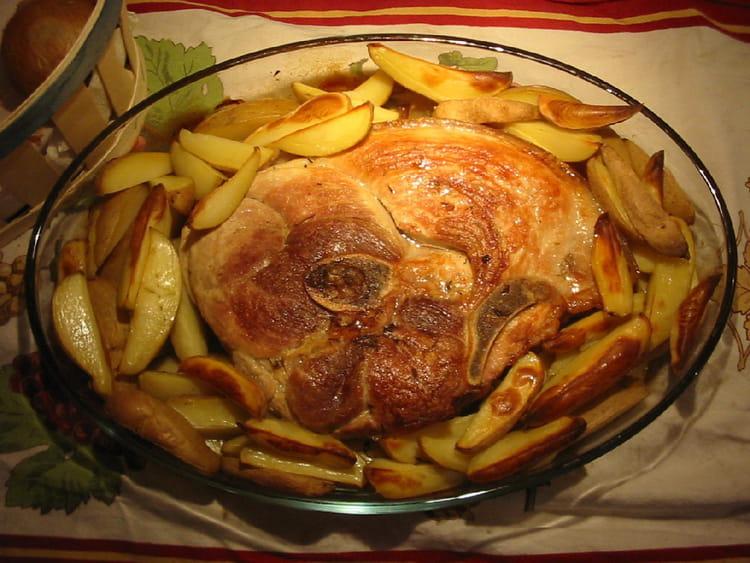 Rouelle de porc la meilleure recette - Cuisiner des cotes de porc ...