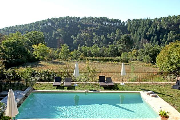 Panorama sur piscine