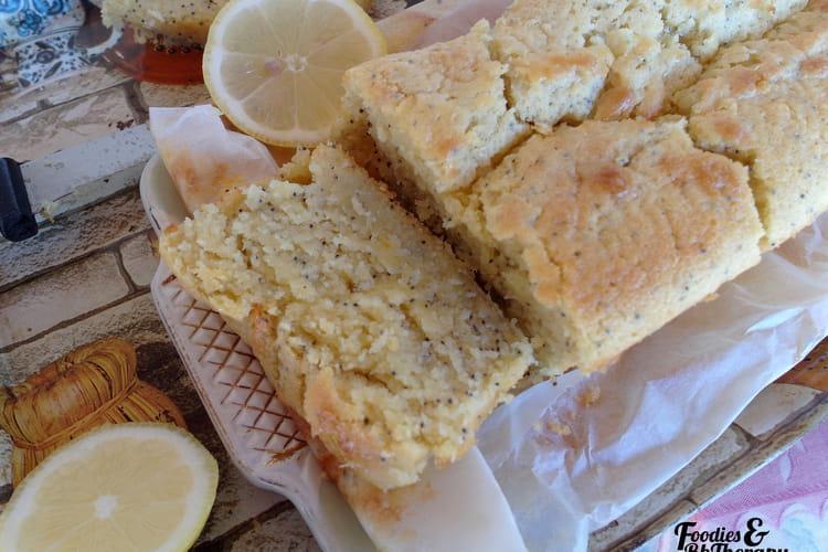 Cake moelleux citron-pavot