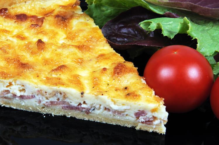 Quiche lorraine facile for Cuisine de quiches originales et gourmandes