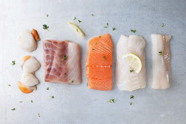 Du poisson frais à la maison