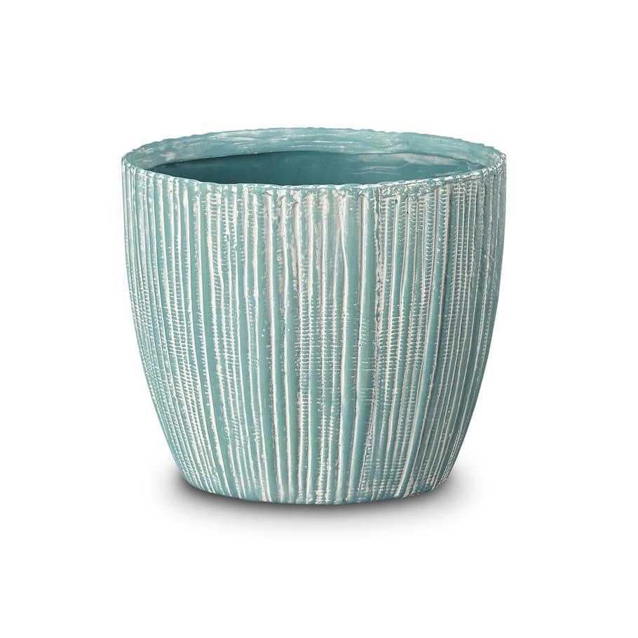 cache pot en dolomite par alin a poteries naturelles au jardin journal des femmes. Black Bedroom Furniture Sets. Home Design Ideas