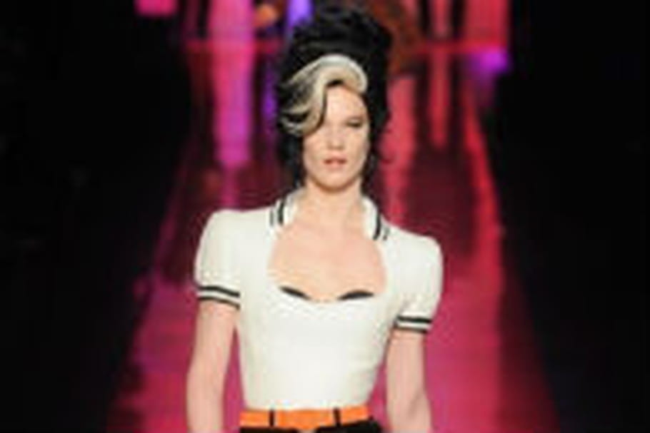 L'ombre d'Amy Winehouse chez Jean Paul Gaultier